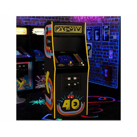 Official Pac-Man 40th Anniversary Limited Edition Quarter Arcade (Signed Edition)