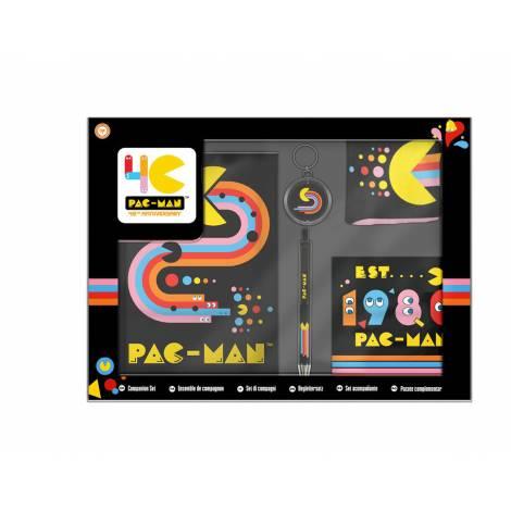 Official Pac-Man 9 Pin Badge Set