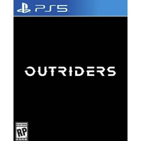 Outriders Pre-Order Bonus Free Deluxe Edition Upgrade (PS5)