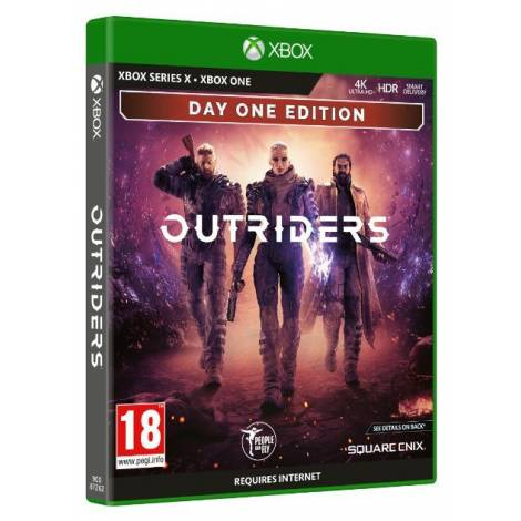 Outriders day 1 edition (XBOX SERIES X)