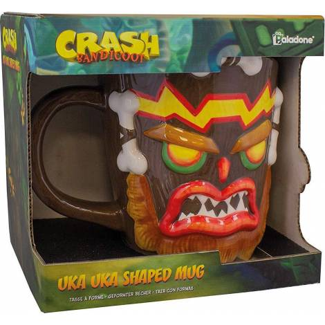 Paladone Crash Bandicoot - uka uka Shaped mug (PP5122CR)