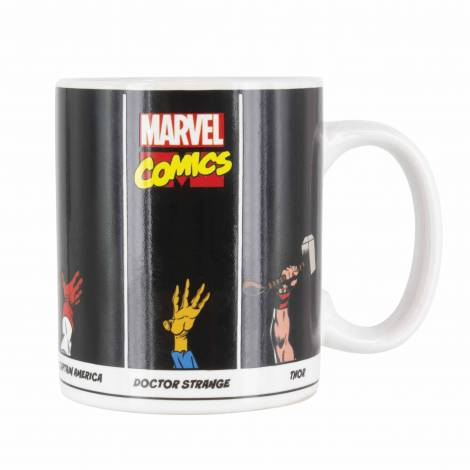Paladone Marvel Comics Super Powers Mug Colour & Design Changes When Hot 300ml (PP4834MC )