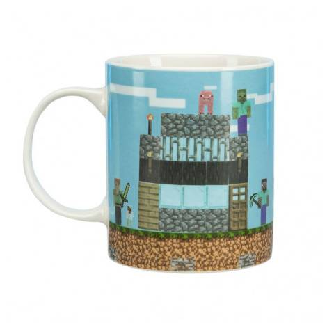 Paladone Minecraft Build A Level Mug (PP6730MCF)