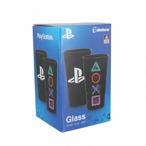 Paladone Products Playstation - Buttons Pint Glass (pp4128ps)