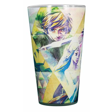 Paladone Products The Legend of Zelda - Hyrule Colour Change Glass (PP3365NN)