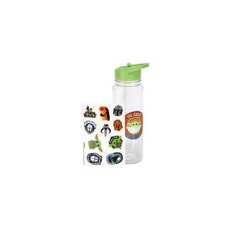 Paladone The Child Plastic Water Bottle with Stickers (PP7341MAN)