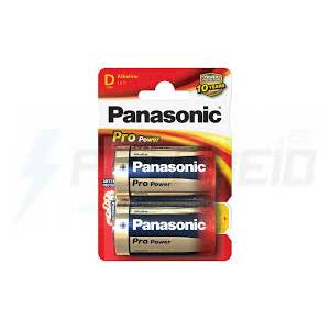 Panasonic Pro Power Alkaline D - 2 Pack