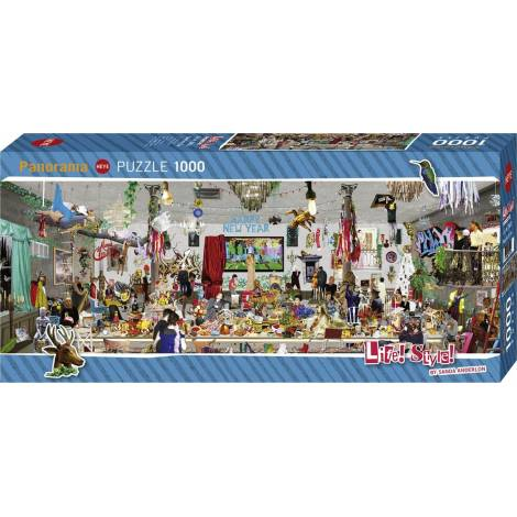 Panorama New Year's Eve 1000pcs (29823) Heye