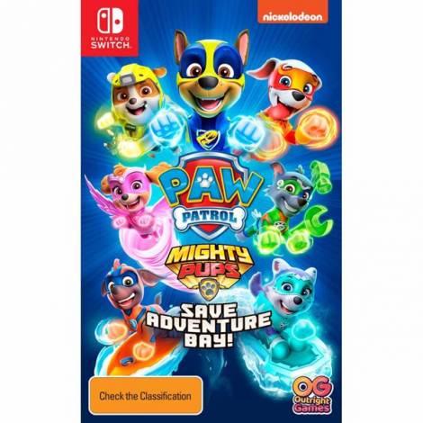 PAW Patrol: Mighty Pups Save Adventure Bay  (Nintendo Switch)