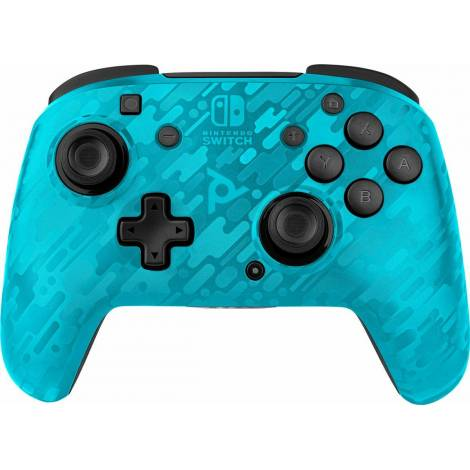 PDP Faceoff Deluxe Wireless Controller Camo Blue (NINTENDO SWITCH)