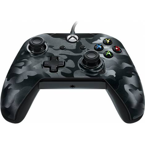 PDP Gaming Conroller Wired Black Camo (Xbox One)
