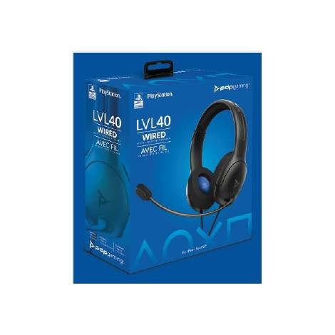 Pdp Lvl 40 Wired Headset Black (051-108-EU-BK) (PS4)