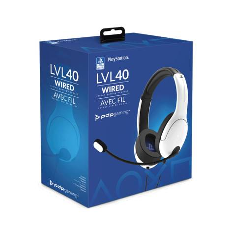 Pdp Lvl 40 Wired Headset  white (051-108-EU-WH) (PS4)