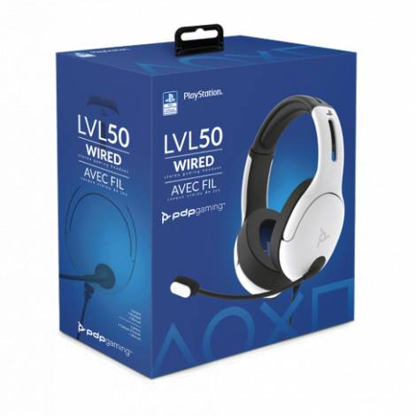 Pdp Lvl 50 Wired Headset white (051-099-NA-WH) (PS4)