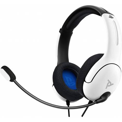 PDP LVL40 Stereo Headset PS4 / PS5 White (PS4)
