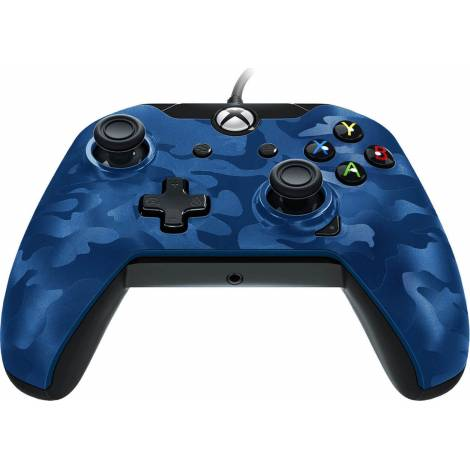 PDP Wired Blue Camo Controller For Xbox Series X (XBOX SERIES , PC)