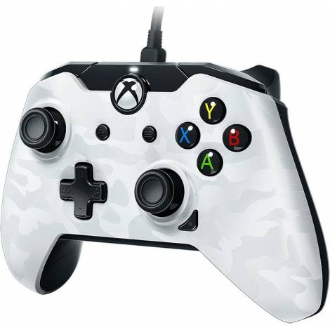 PDP Wired Controller - XΒΟΧ Series S|X & PC - Λευκό Camo (049-012-EU-CMWH)