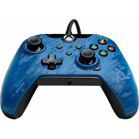 PDP Wired Controller - XΒΟΧ Series S|X & PC - Mπλέ Camo (049-012-EU-CMBL)