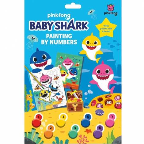 Pinkfong Baby Shark Painting By Numbers (TM074200)