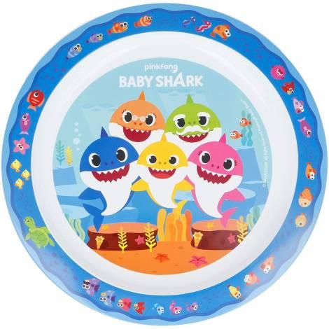 Pinkfong Baby Shark Πιάτο micro (STR13547)