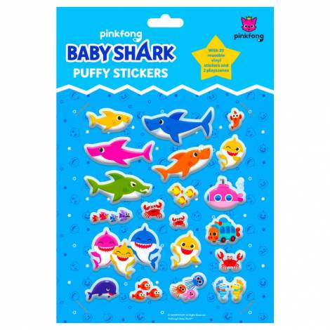 Pinkfong Baby Shark Puffy Stickers (TM074187)