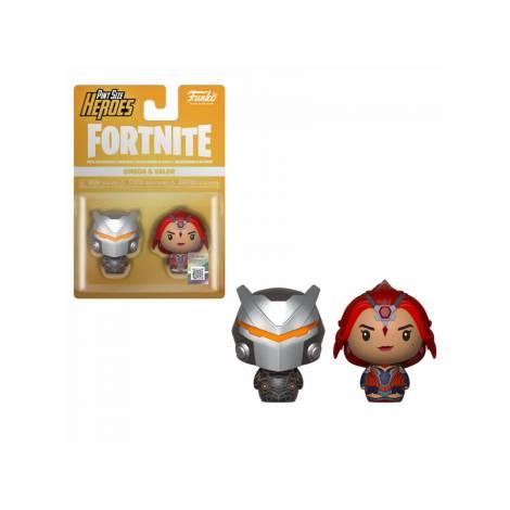 Pint Size Heroes 2-Pack: Fortnite - Omega & Valor