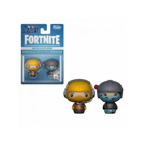 Pint Size Heroes 2-Pack: Fortnite - Raptor & Elite Agent