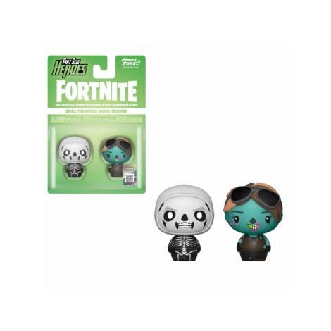 Pint Size Heroes 2-Pack: Fortnite - Skull Trooper & Ghoul Trooper