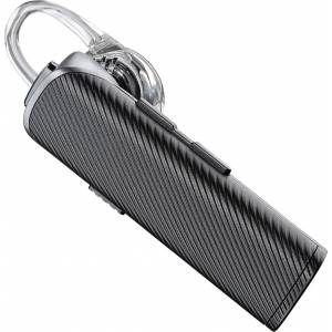 Plantronics (205710-05) explorer110 Bluetooth Headset ( CARBON BLACK ) With Vent Clip AND CAR Charger PLA.HED.0207