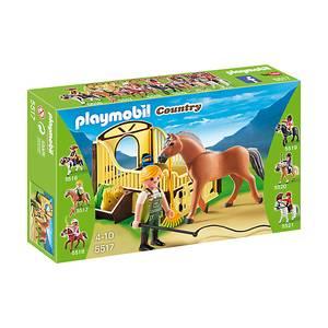 Playmobil -Άλογο fjord με στάβλο 5517