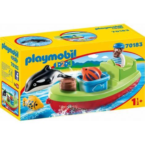 Playmobil 123: Αλιευτικό Σκάφος (70183)