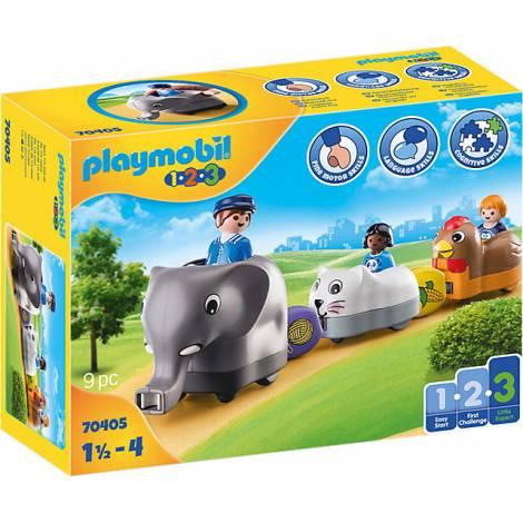 Playmobil® 1.2.3 - Animal Train (70405)