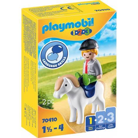 Playmobil® 1.2.3 - Boy with Pony (70410)