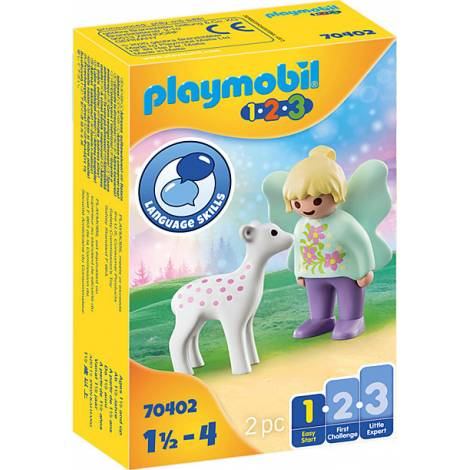 Playmobil® 1.2.3 - Fairy Friend with Fawn (70402)
