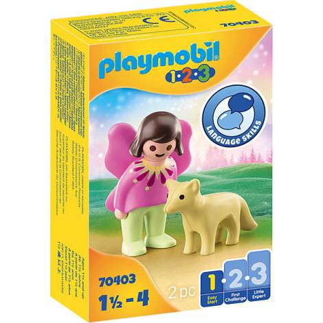 Playmobil® 1.2.3 - Fairy Friend with Fox (70403)