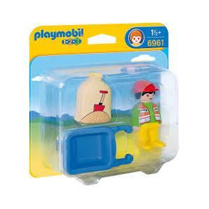 Playmobil 6961 Εργάτης με καροτσάκι