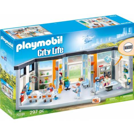 Playmobil® Cilty Life - Furnished Hospital Wing (70191)