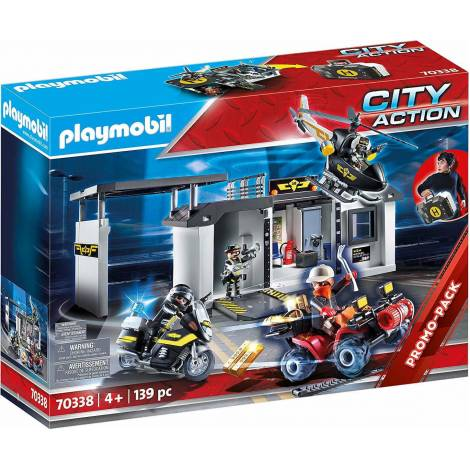 Playmobil City Action - Take Along Tactical Unit Headquarters (70338)