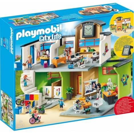 Playmobil City Life: Επιπλωμένο Σχολικό Κτίριο (9453)