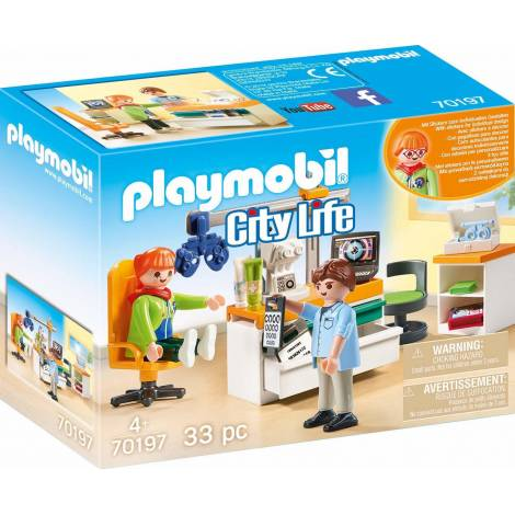 Playmobil City Life - Eye Doctor (70197)