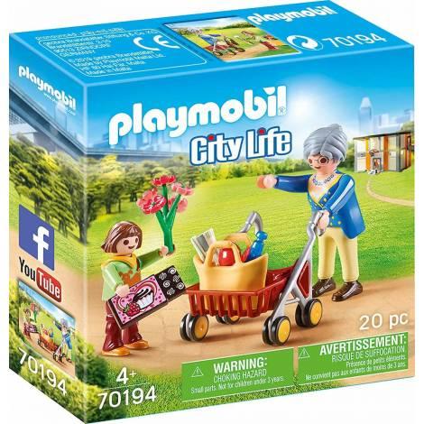 Playmobil City Life: Grandmother with Child (70194)