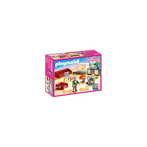 Playmobil® Dollhouse - Comfortable Living Room (70207)