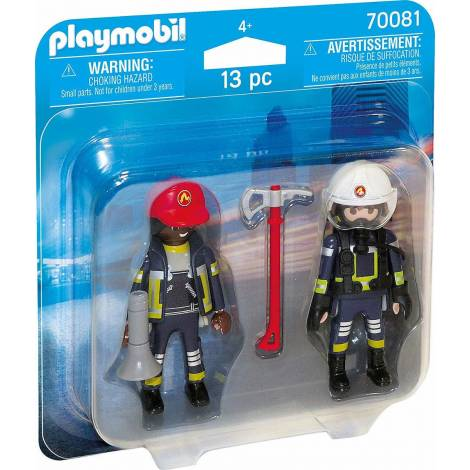 Playmobil Duo Pack - Rescue Firefighters (70081)