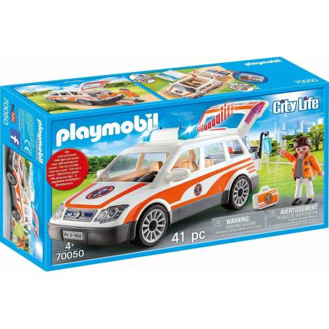 Playmobil: Emergency Car with Siren (70050)