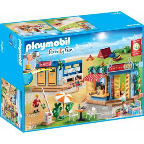 Playmobil Family Fun: Large Campsite (70087)