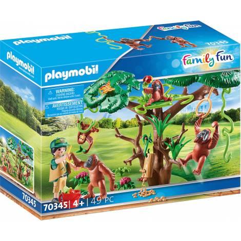 Playmobil Family Fun - Orangutans With Tree (70345)