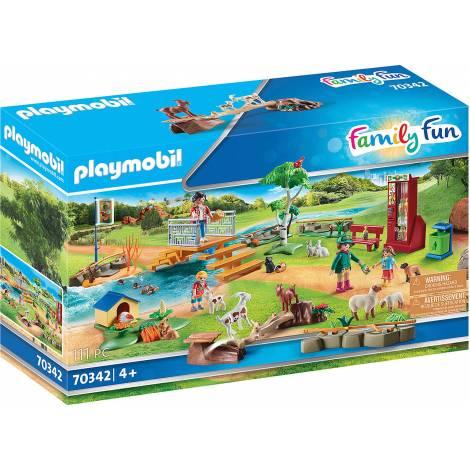 Playmobil Family Fun - Petting Zoo (70342)