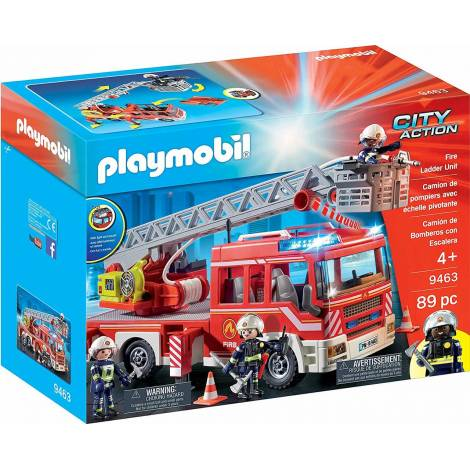 Playmobil: Fire Ladder Unit (9463)