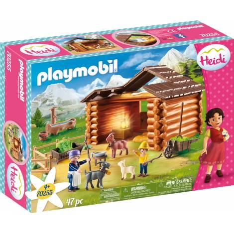 Playmobil Heidi - Peters Goat Stable (70255)