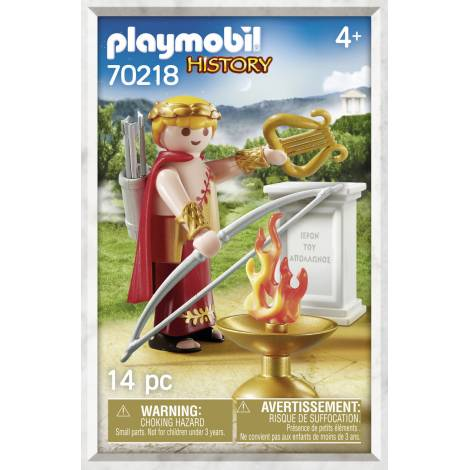 Playmobil History: Θεός Απόλλων  70218